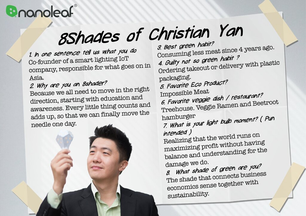 nanoleaf christian yan