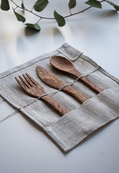 reusable set of cutlery
