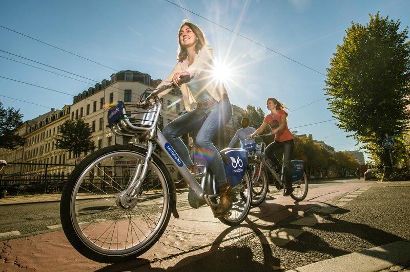 biking carbon free activities
