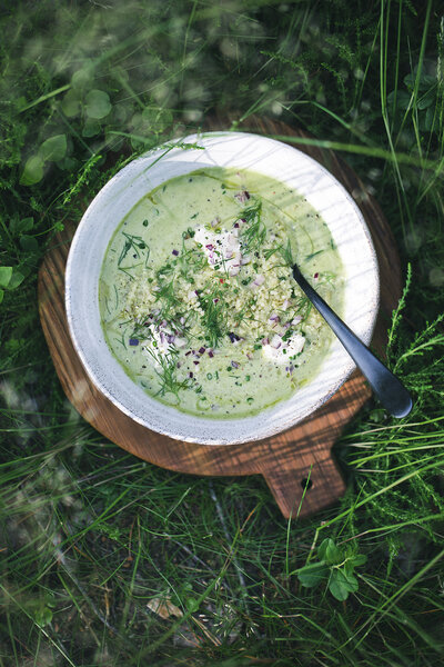plant-based soup