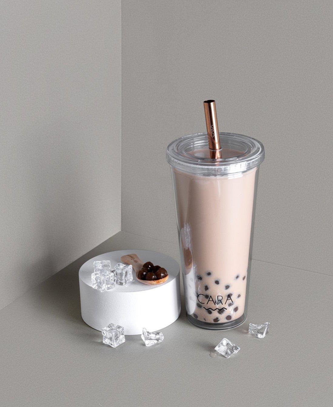 cara bubble tea tumbler