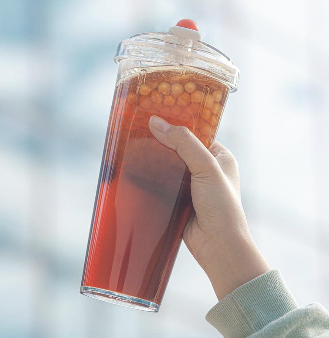 float bubble tea cup