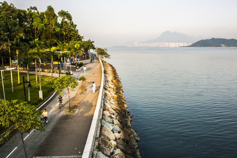 cycling trail hong kong