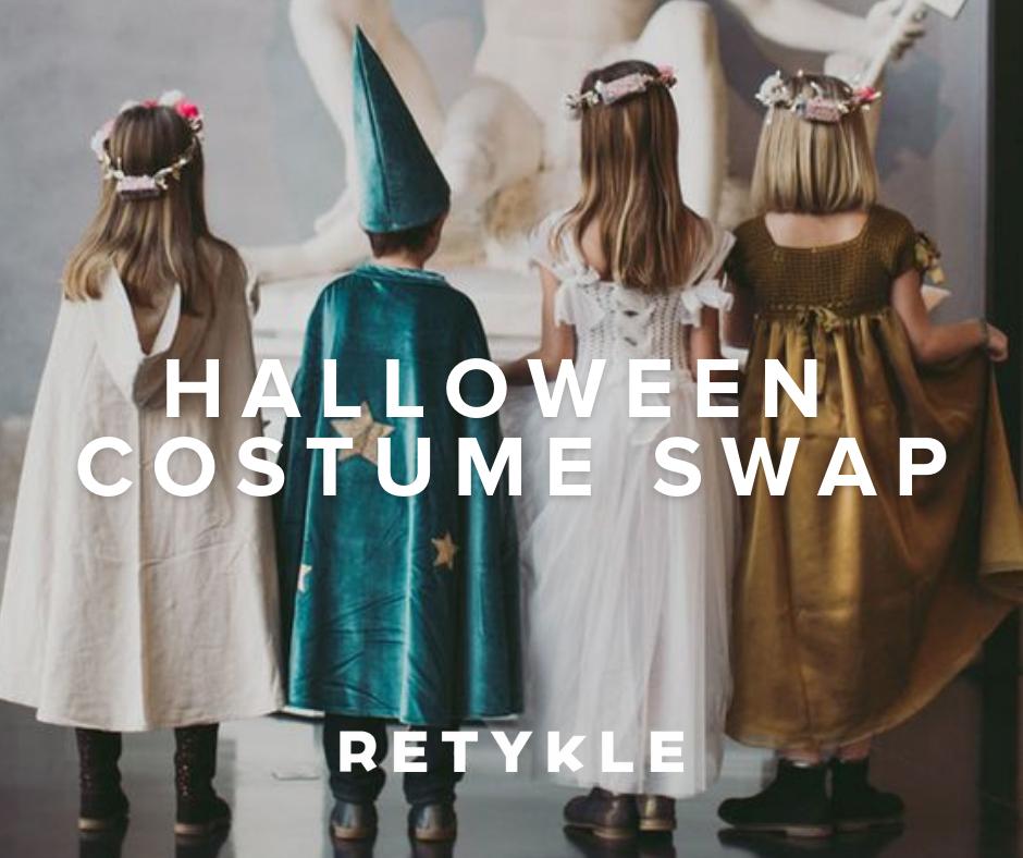 retykle halloween costume swap
